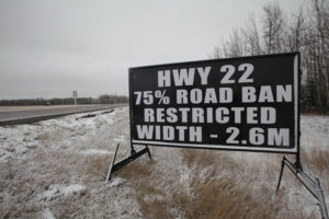 Edmonton Road Construction Signs